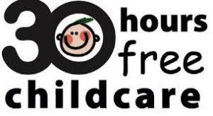 30 Hour free childcare logo